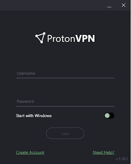 O ProtonVPN!