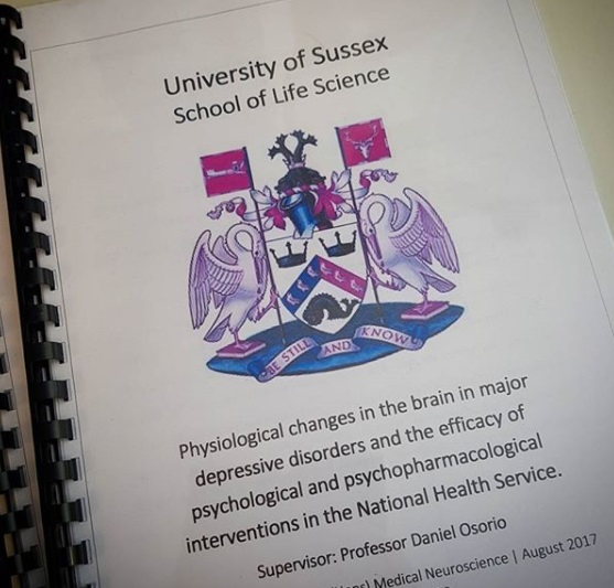 The University Diaries: My Dissertation!