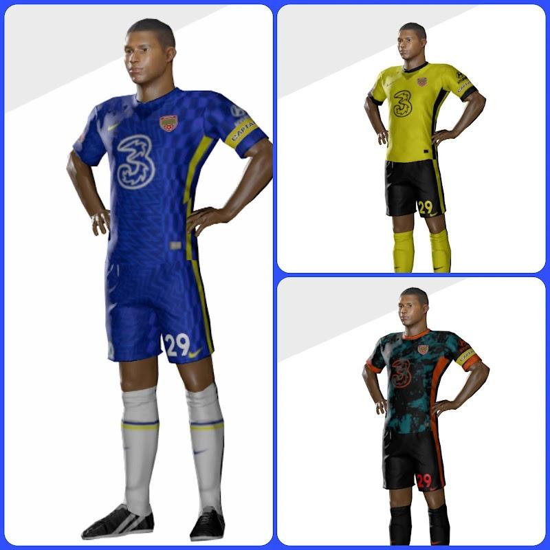 Kit Chelsea 2022 Dream League soccer