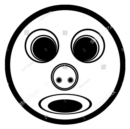 stock-photo-illustration-of-d-images-inspired-by-black-and-white-circles-resembling-faces-1865504266