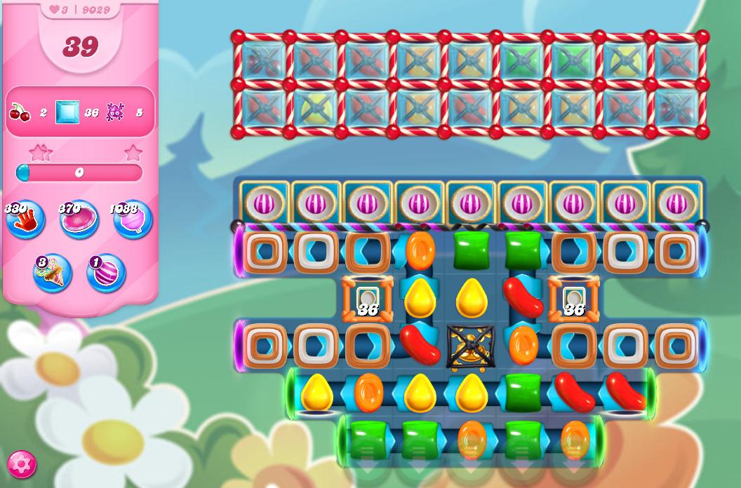 Candy Crush Saga level 9029