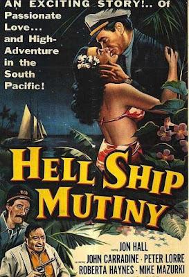 Póster película Hell Ship Mutiny