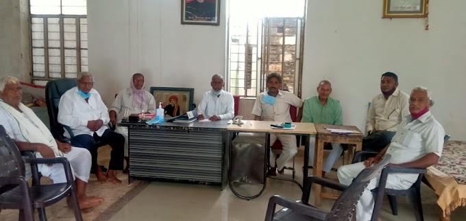 माली समाज विकास समिति की प्रबंध कार्यकारिणी की मीटिंग का हुआ आयोजन