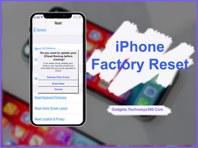 How to Factory Reset iPhone or iPad Easily | How to Wipe iOS or iPhone