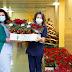 Προσφορά αλεξανδρινών φυτών προς το υγειονομικό προσωπικό του νοσοκομείου Παπαγεωργίου