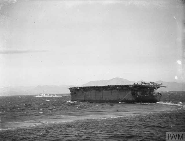 HMS Argus on 30 January 1942 worldwartwo.filminspector.com