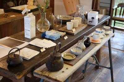 珈琲豆屋・ヤマとカワ珈琲店 工芸品販売