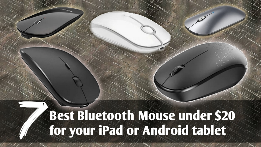 7 Best Bluetooth Mouse for iPad 8th generation Under $20