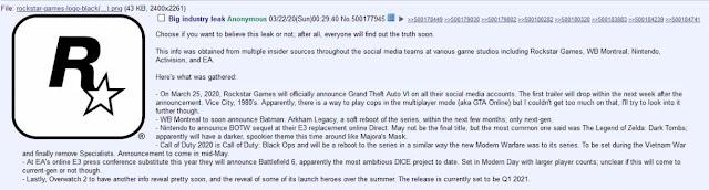 خيبة أمل كبيرة للجمهور بعد عدم الكشف عن لعبة GTA 6