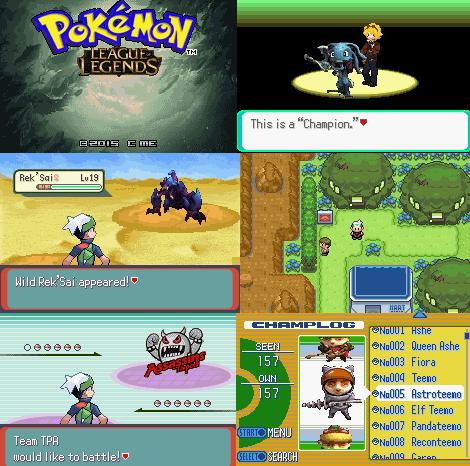 Pokemon League of Legends GBA ROM Download