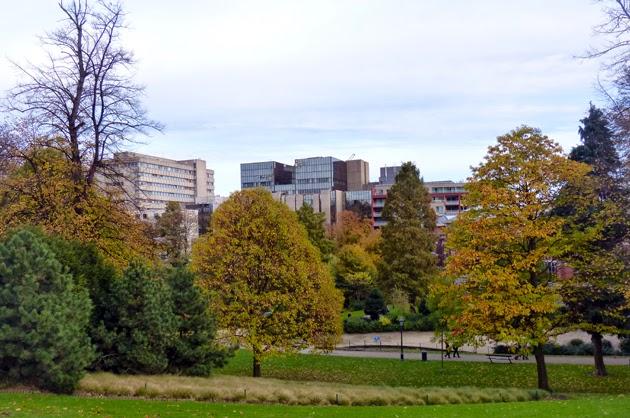 Bruxelles en automne