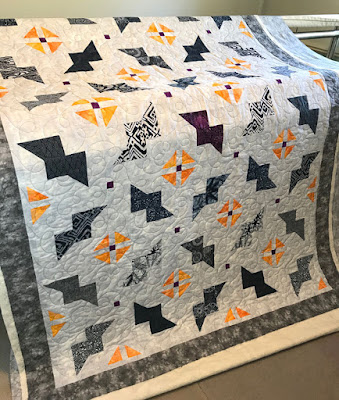 Just Batty twin size quilt