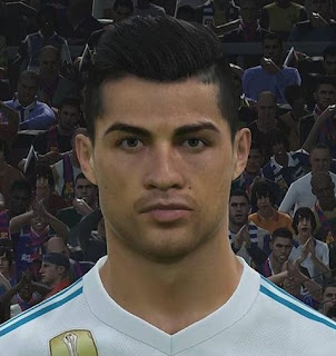 PES 2018 Faces by Messipradeep ( C. Ronaldo )