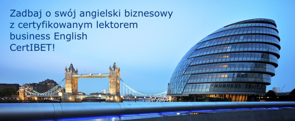 Lektor Executive Business English - Również Online