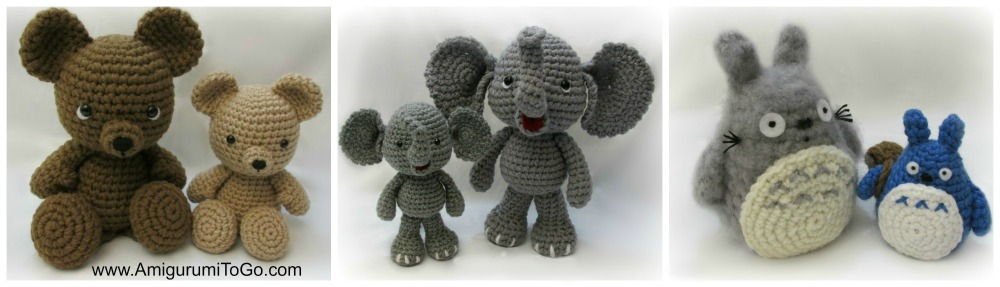 Easy Way To Enlarge Amigurumi Patterns Amigurumi To Go Amazing How To Enlarge A Pattern