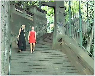 Nós Duas Descendo a Escada (2015) - Escada do Ricaldone