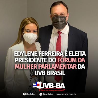 Baiana de Serrinha é eleita presidente da UVB Brasil Mulher