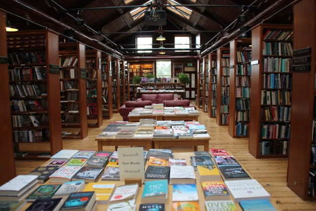 bookshop in hay-on-wye