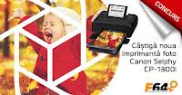 Castiga noul model de imprimanta Canon Selphy CP-1300