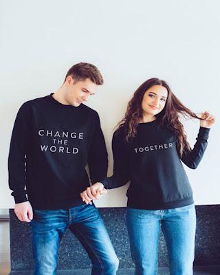 Outfits en pareja con jean