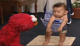 Sesame Street Elmo's World Jumping Kids and Baby