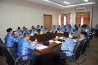 Usai Apel Gabungan, Wakil Bupati Bima Pimpin Rakor Terpadu Lintas OPD