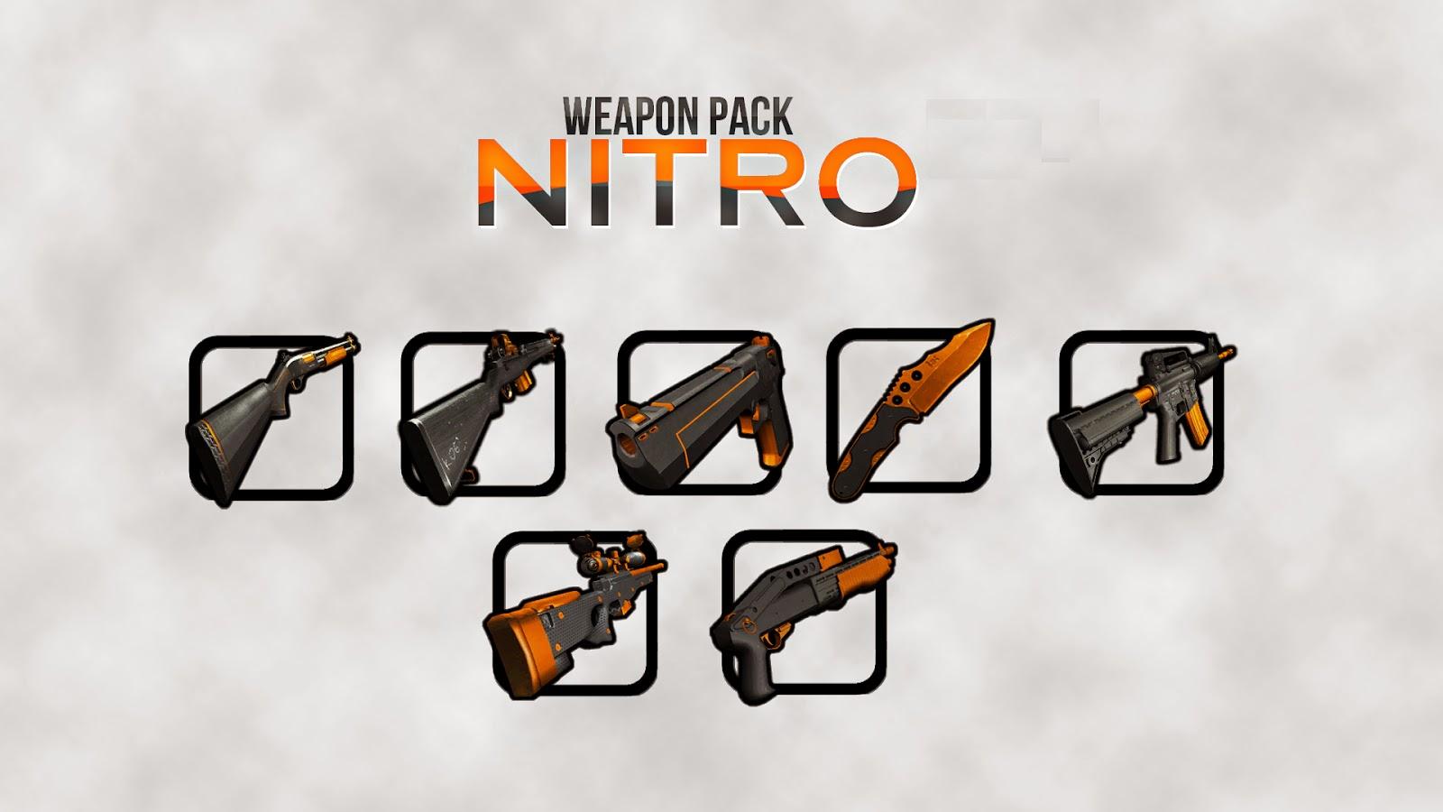 Weapon Pack Nitro Gta San Andreas 1