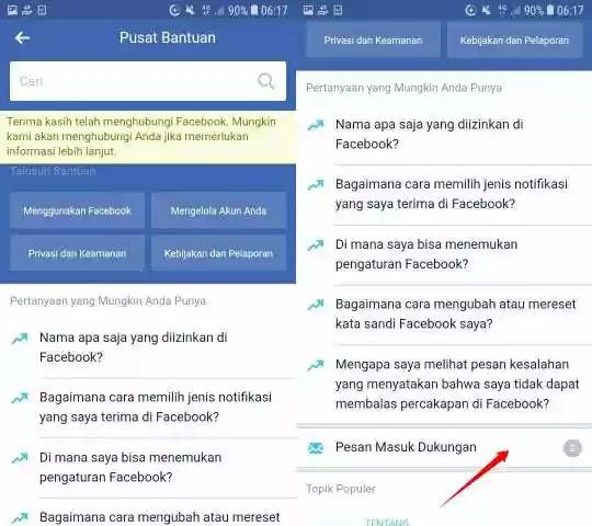 Cara Membuat Nama FB Kosong