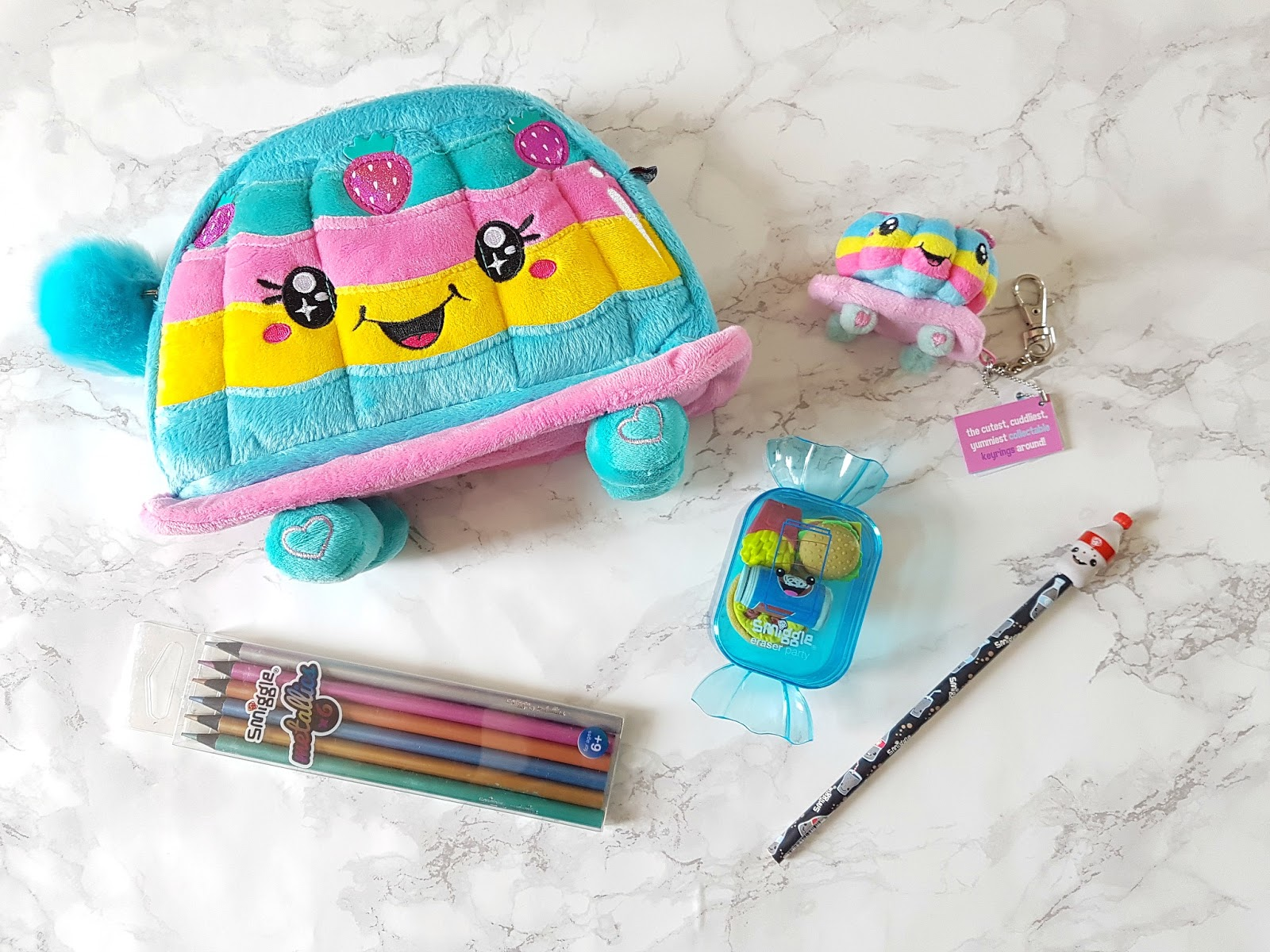 Scented pens, Smiggles, scented pencil case