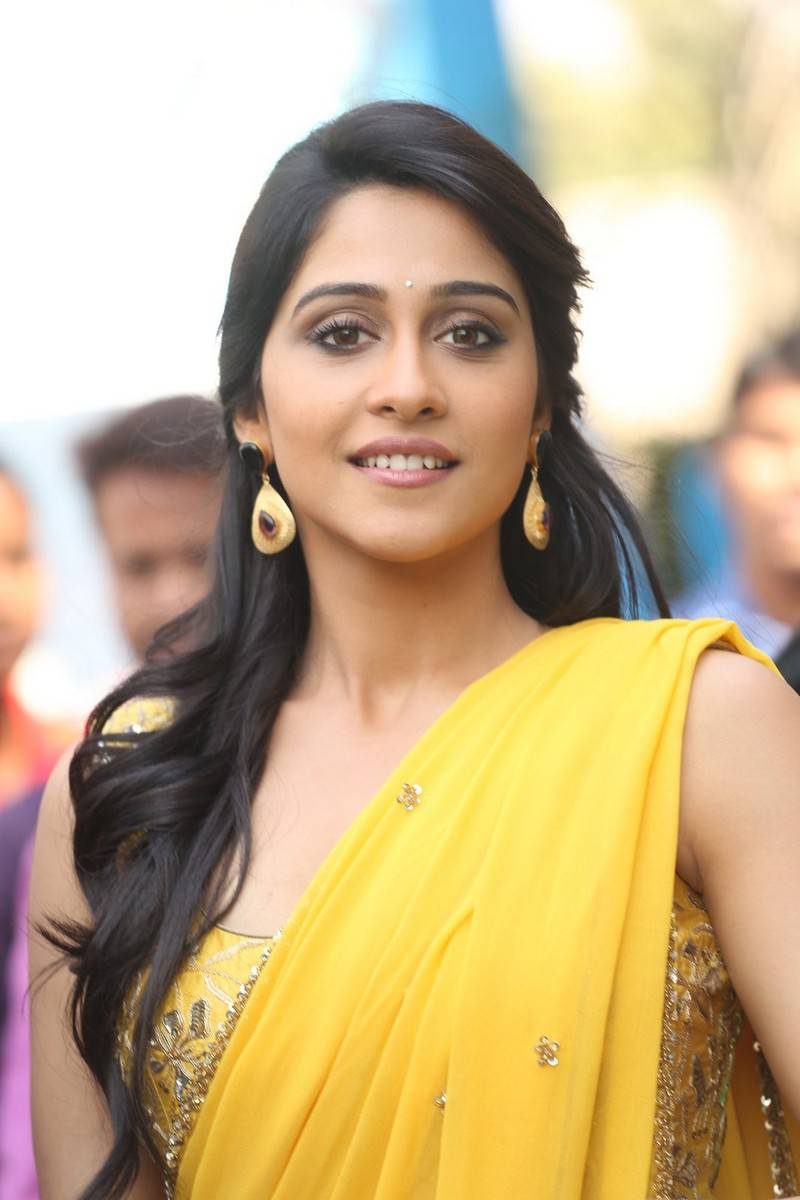 Regina Cassandra Latest Hot Stills In Yellow Saree