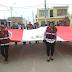 AUTORIDADES DE CHINCHA BAJA EN CEREMONIA DOMINICAL A LA BANDERA