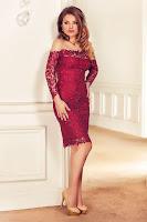 rochie-eleganta-din-dantela-brodata-bordo-cu-paiete-zaira1