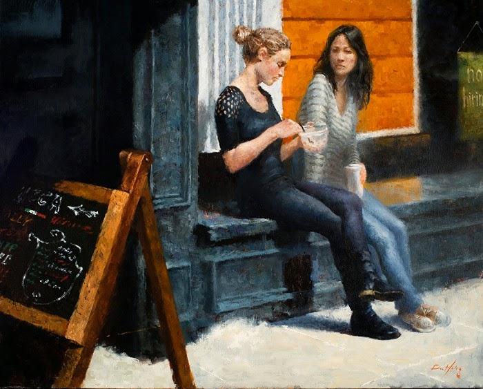 Корейский художник. Doohong Min