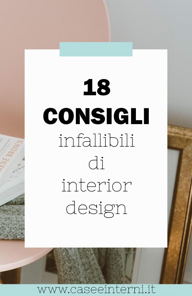 18 infallibili consigli di interior design  per la tua casa nel 2021