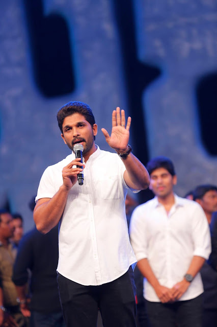 Allu Arjun at Khaidi No 150 Pre Release event Photos