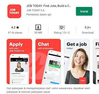 Aplikasi pencari kerja terpercaya