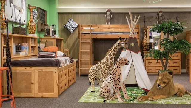 أفكار لغرف نوم أطفال