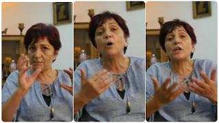 (بالفيديو و الصور) سامية عبو تدخل في إضراب جوع وحشي...