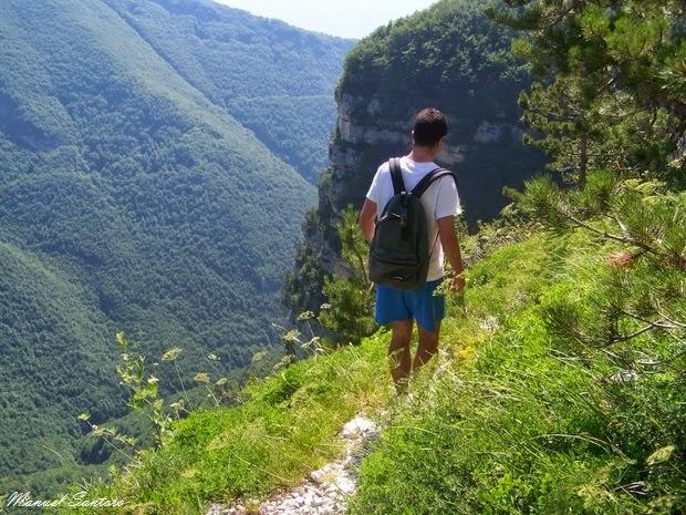 Valle dell'Orfento, sulla via di ritorno