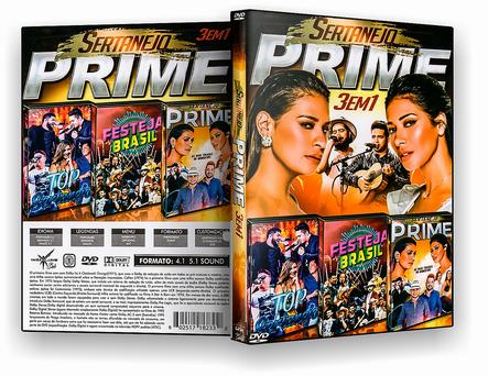 CAPA DVD – Sertanejo Prime 3×1 – ISO