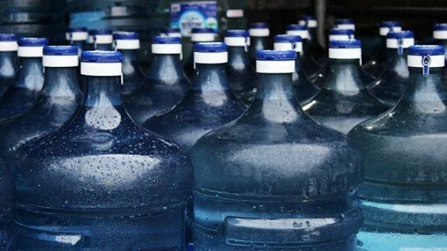 le minerale galon berapa liter