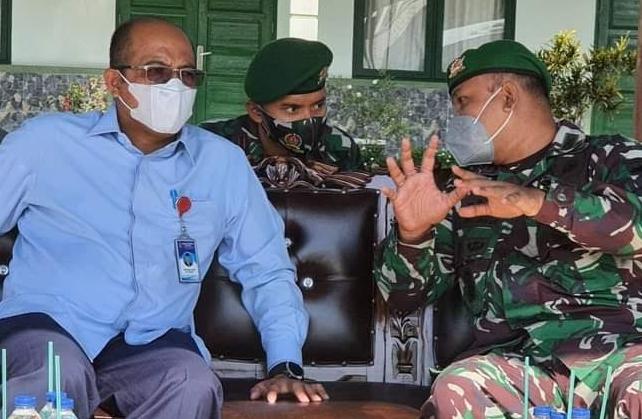 Latsarmil Pegawai Baru Perumda Air Minum Kota Padang , Ini Harapan Dirut Hendra Pebrizal