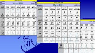 kalender 2021 lengkap download