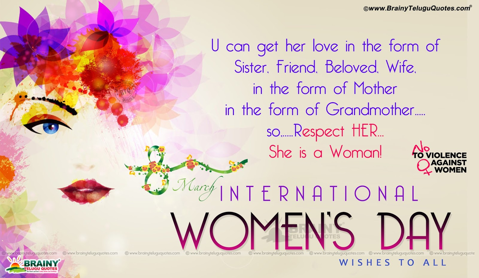 Trending Womans Day 5 Best Greetings Wallpapers In English Happy