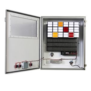 Process control annunciator panel