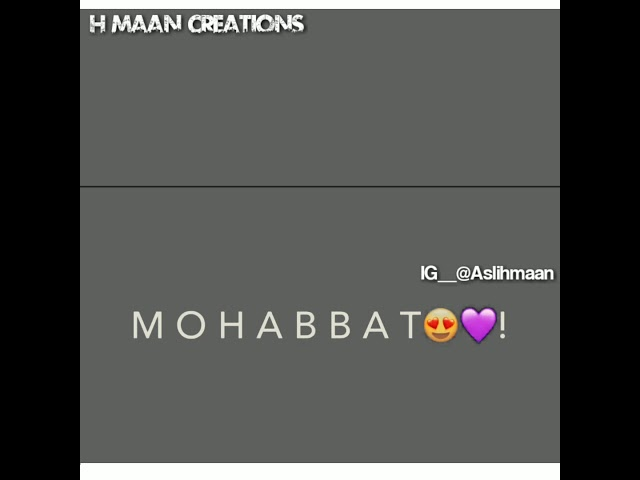 StatusMobi.Com | Mohabbat Ab Main Na Karunga Kisi Ko New WhatsApp Status Video | New Whatsapp Status Video