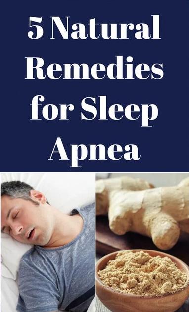 5 Natural Sleep Apnea Remedies