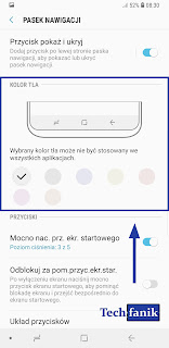 Samsung Galaxy S9+ Zmiana Koloru Pod Przyciskami Nawigacyjnymi