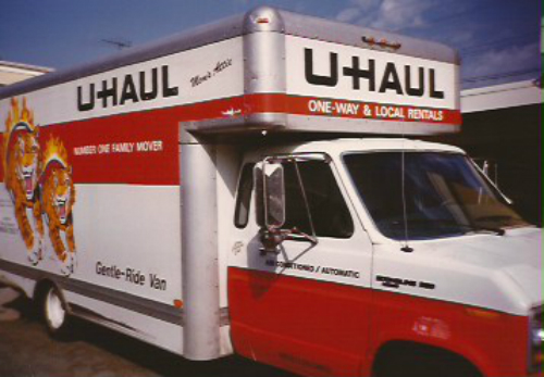 Uhaul Truck to move to PA