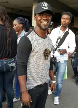 bunky ajayi son attend event mother death